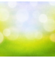 Nature Bokeh Background vector image vector image