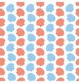 Shellfish Scallops Seamless Texture vector image vector image