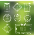 tribal frames with place for your text vector image vector image