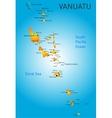 Vanuatu vector image vector image