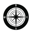 Ancient compass icon vector image vector image