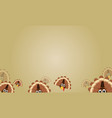 background of thanksgiving style collection vector image vector image