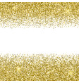 gold glittery texture sparkle golden vector image vector image