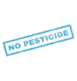 No Pesticide Rubber Stamp vector image vector image