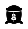 sack of wheat icon vector image vector image