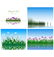 water grass vector image vector image
