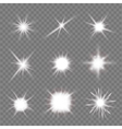flashes vector image
