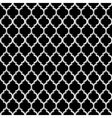 3d black and white islamic seamless pattern vector image vector image