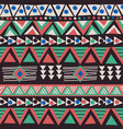 african ethnic motifs background vector image vector image