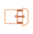 cupboard vector image