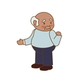 grandfather old person man male icon vector image vector image