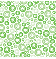 green swirl pattern background vector image vector image