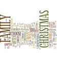 maybe this christmas will be different text vector image vector image