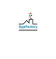 Technology logo design vector image vector image