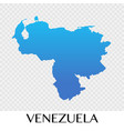 venezuela map in south america continent design vector image vector image