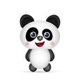 cute Panda smiling vector image