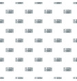 accordion pattern seamless vector image vector image