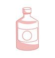 bottle medicine pharmacy element health vector image vector image