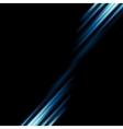 Conceptual dark blue stripes background vector image vector image