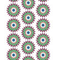 mandala pattern background vector image vector image