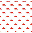 red baseball cap pattern seamless vector image vector image