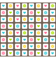 Seamless bright abstract pattern vector image
