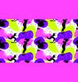 skateboard girl seamless pattern vector image vector image