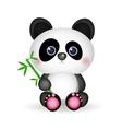Very cute Panda vector image vector image