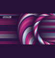 abstract art backdrop colorful curly circle line vector image vector image