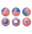 banners for usa independence day vector image
