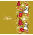 Christmas background with place for your text vector image