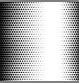 halftone circle dots gradient texture pattern vector image