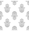 hand of fatima seamless pattern vector image vector image