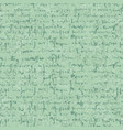 old letter seamless pattern with textures and hand vector image