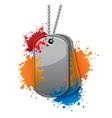 Painball tags vector image vector image