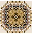 Stylized Oriental Carpet Lace vector image vector image