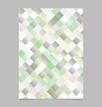 trendy colorful abstract geometrical square flyer vector image vector image