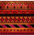 Grunge tribal pattern vector image