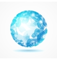 Abstract Sphere Blue vector image