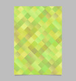 abstract trendy geometrical diagonal square flyer vector image vector image