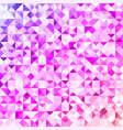 colorful spectrum geometric mosaic background vector image