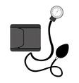 preasure device measure equipment icon vector image vector image