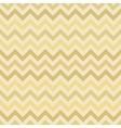 Retro gold zigzag chevron pattern vector image vector image
