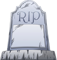 RIP Grave vector image