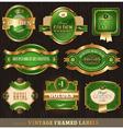 ornate frames vector image