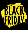 banner template black friday trend vector image