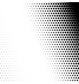 half tone raster pattern retro gradient cartoon vector image