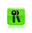 keys icon vector image vector image