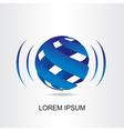 Logo sphera 004 vector image vector image