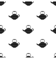 Tetsubin icon in black style isolated on white vector image vector image